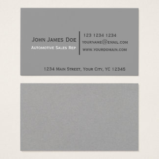 Minimalist | Trendy Black Gray Modern Attorney Business Card