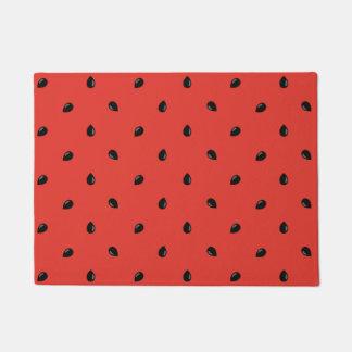 Minimalist Watermelon Seed Pattern Doormat