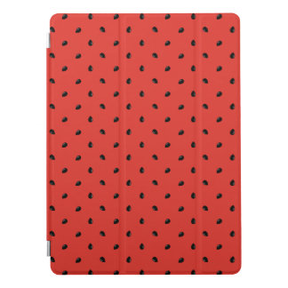 Minimalist Watermelon Seed Pattern iPad Pro Cover
