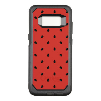 Minimalist Watermelon Seed Pattern OtterBox Commuter Samsung Galaxy S8 Case