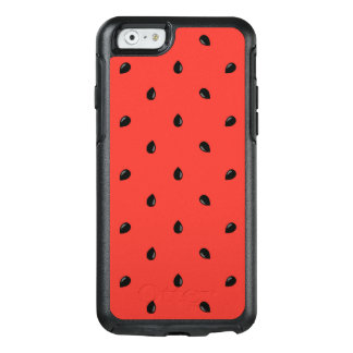Minimalist Watermelon Seed Pattern OtterBox iPhone 6/6s Case