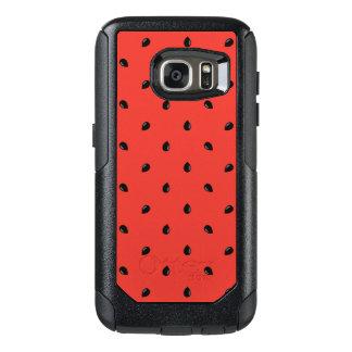 Minimalist Watermelon Seed Pattern OtterBox Samsung Galaxy S7 Case