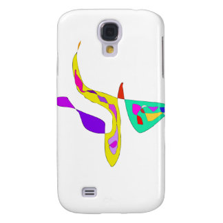 Minimalistic Abstract Fauvism Galaxy S4 Cover
