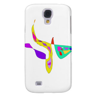 Minimalistic Abstract Fauvism Samsung Galaxy S4 Case