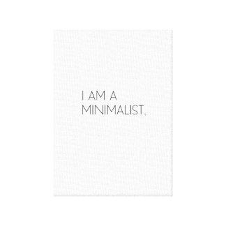 Minimalistic canvas art