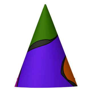Minimalistic Expressionism Party Hat