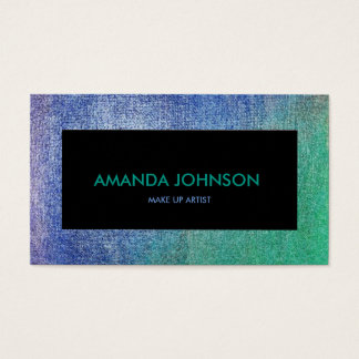 Minimalistic Glam Stylist Make Up Shadows Blue Vip