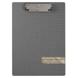 Minimalistic Gray Clipboard