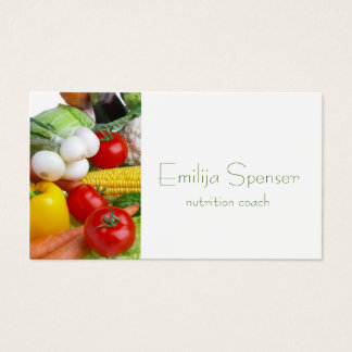 Minimalistic Healthy Life/Dietitian Card