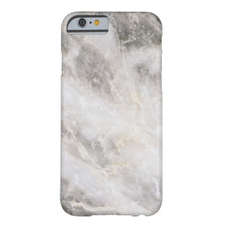 Minimalistic Marble Barely There iPhone 6 Case