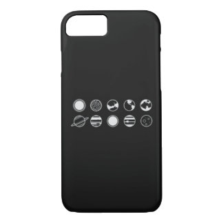 Minimalistic planet phone case