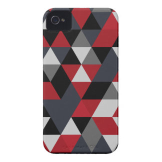 Minimalistic polygon pattern (Prism) iPhone 4 Case-Mate Cases