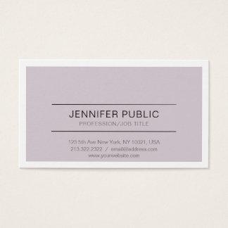 Minimalistic Professional Stylish Design Modern Business Card