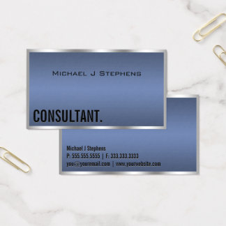 Minimalistic YOU CHOOSE COLOR Border Business Card