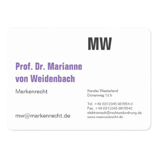 Minimum Maxi Cards Pack Of Chubby Business Cards
