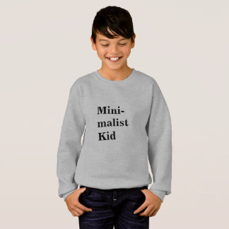 minimum trick kid Sweater