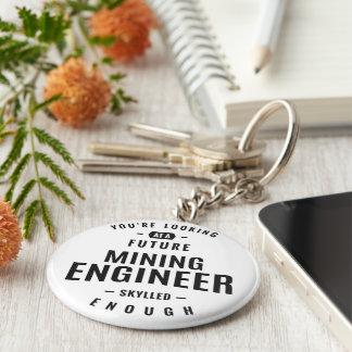 Mining Engineer Key Ring