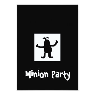 Minion at Night Party Invitation