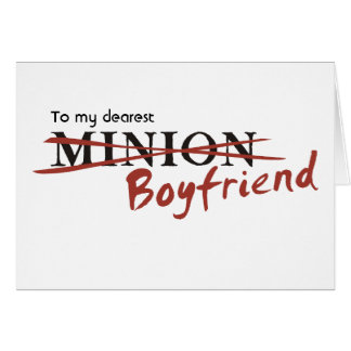 Minion Boyfriend Cards