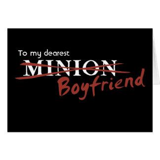 Minion Boyfriend Greeting Card