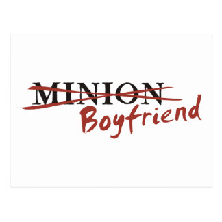 Minion Boyfriend Postcards