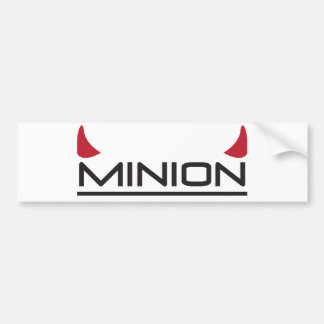 Minion Car Bumper Sticker
