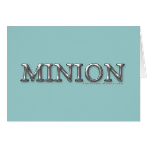 Minion Greeting Cards