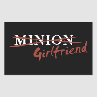 Minion Girlfriend Sticker