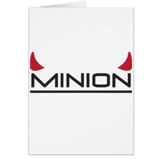 Minion Greeting Card