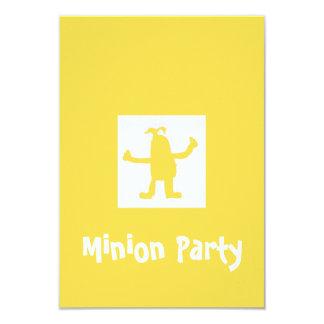 Minion Party Invitation