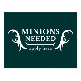 Minions Needed Post Cards