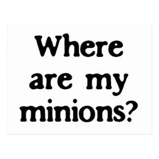 Minions Postcard