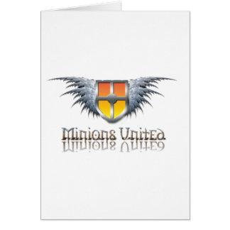 Minions United Greeting Card