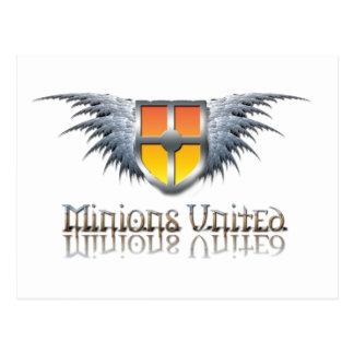 Minions United Postcard