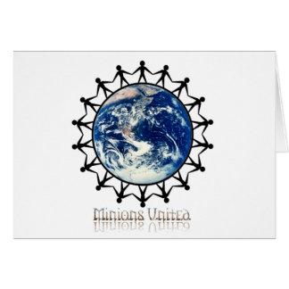 Minions United World Branded Range Greeting Card
