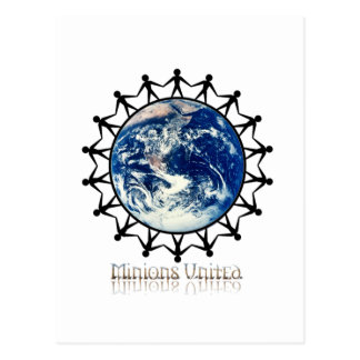 Minions United World Branded Range Postcard