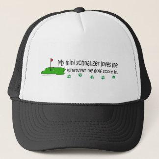 MiniSchnauzer Trucker Hat