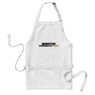 Minister Powered By Beer Apron