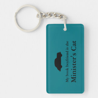 Minister's Cat Keychain
