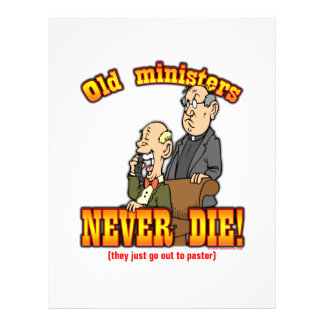 Ministers Full Color Flyer