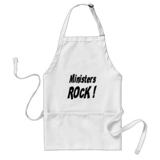 Ministers Rock! Apron