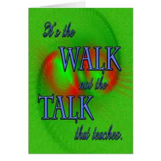 Ministry Appreciation Walk Card
