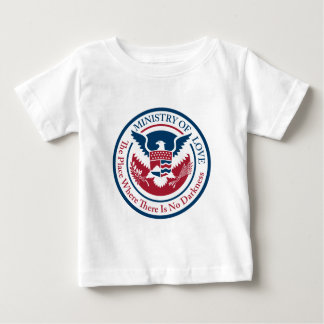 ministry of love, official seal baby T-Shirt