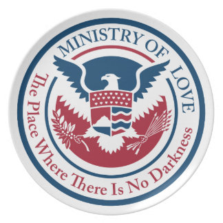 ministry of love, official seal plate
