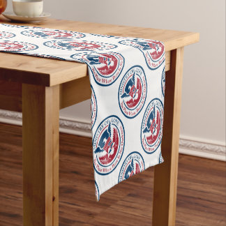 ministry of love, official seal short table runner