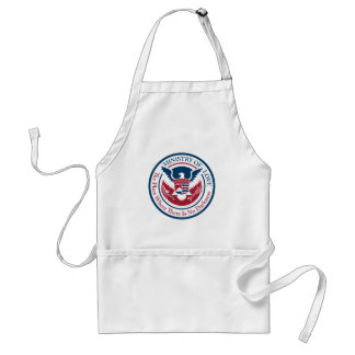 ministry of love, official seal standard apron