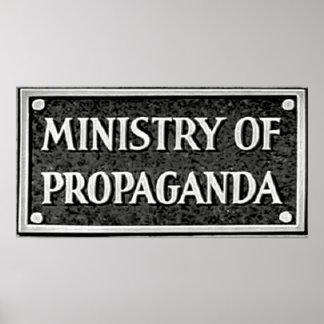 Ministry of Propaganda Poster