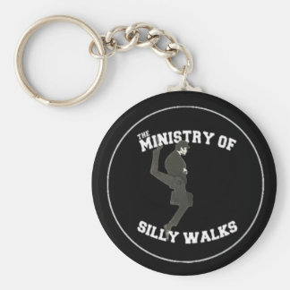 Ministry Of Silly Walks Keychain