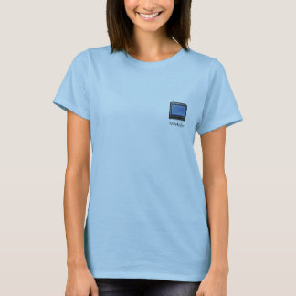 Minitube application icon for ladies T-Shirt