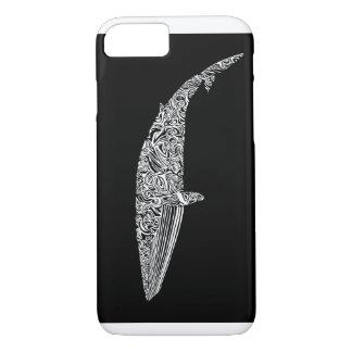 Minke Whale Tribal Graphic Illustration iPhone 7 Case